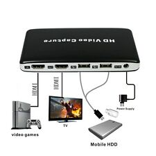 HDMI HD USB TV DVD Blu-ray Recorder Game Video Capture Box 1080P Fo PS4 XBOX Wii
