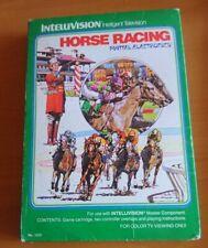 Horse Racing Intellivision Completo OTTIME Condizioni gioco testato leggere