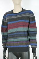 FRED PERRY LANA WOOL Maglione Pullover Jumper Sweater Tg L Donna Woman C