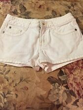 Limited Too Girls White Shorts Pockets Nice 10 Regular