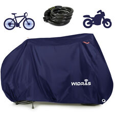 Bicycle and Motorcycle Cover for Outdoor Storage Bike Premium Material, Widras