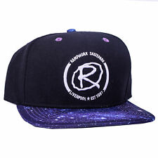 Rampworx Casquette Réglable, Noir/Galaxy