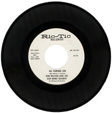 """BOB WILSON AND THE SAN REMO QUARTET  """"ALL TURNED ON c/w HUNGRY FOR LOVE""""  DEMO"""
