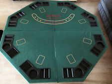 """Full Size 48"""" x 48"""" Fold Up Poker Table Top"""