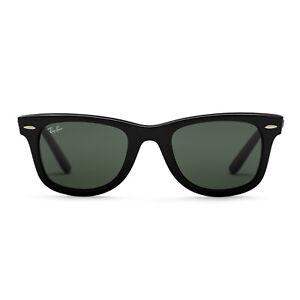 Ray-Ban Original Wayfarer Sunglasses (Black / Green Classic G-15)
