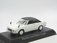 Norev 800642 - 1969 Mazda Luce Rotary Coupe - weiß/schwarz - 1/43