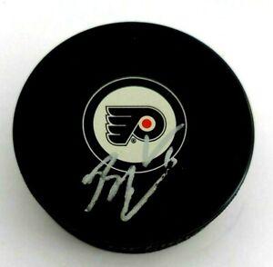 Braydon Coburn Signed Philadelphia Flyers Puck Auto Autograph NHL Islanders
