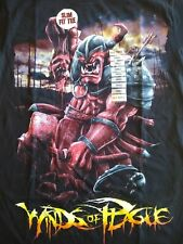 Winds Of Plague Mens Black No Regrets Metal Band T shirt Size Small New