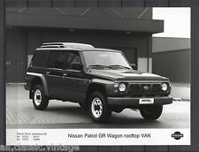 PRESS - FOTO/PHOTO/PICTURE - Nissan Patrol GR Wagon Rooftop Van