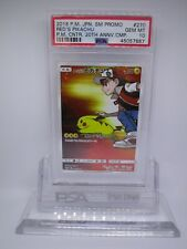 Psa 10 Gem Mint Red's Pikachu Promo 2018 Pokemon Card 270/Sm-P M28