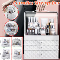 Clear Cosmetic Organizer Acrylic Makeup Drawer Holder Earrings Storage Case √