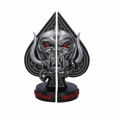More details for nemesis now motorhead ace of spades warpig snaggletooth bookends 18.5cm