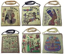 4 Tote Shoulder Bag Purse Handbag Egypt Pharaoh Nefertiti Cleopatra Tut Canvas