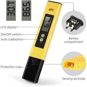 Portable Digital Electric PH Meter Tester Hydroponics Aquarium Water Pen BEST