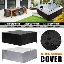 Universal Spa Hot Tub Dust Cover Waterproof Jacuzzi Hotspring UV Proof Guard AU