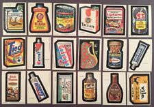 1979 Wacky Packages Series 1 Complete set of 66  ( #1-66)  Originals