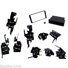 CT23TY53 SCION XD 2008 ONWARDS BLACK DOUBLE DIN FACIA ADAPTER FITTING KIT