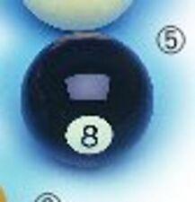 Billardkugel schwarz Nr 8 Kugel  57,2 mm Pool  Billardball Einzelkugel