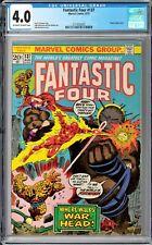 Fantastic Four #137 CGC 4.0 (Aug 1973, Marvel) John Buscema cover, Shaper app.