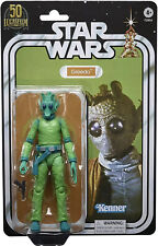 "GREEDO ~ STAR WARS THE BLACK SERIES LUCASFILM 50TH ANNIVERSARY 6"" * PREORDER *"