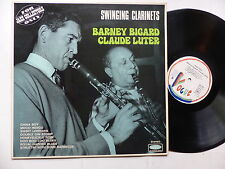 BARNEY BIGARD  CLAUDE LUTER Swinging clarinets VOGUE SLD 767