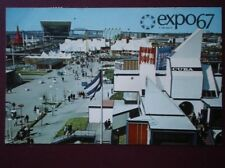 POSTCARD EXHIBITIONS EXPO 67 GENERAL VIEW OF NOTRE DAME