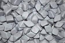 """Ceramic Tumbling Media 1 Lbs.  Non-Abrasive Tumbler Lapidary 1-1/4"""" X 3/4"""""""