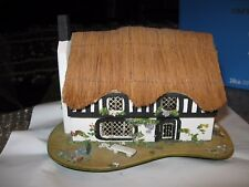 Vintage Music Box Pauline Ralph Music Box Thatched roof cottage - Lotla