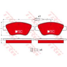 Bremsbelagsatz Scheibenbremse DTEC COTEC - TRW GDB1482DTE