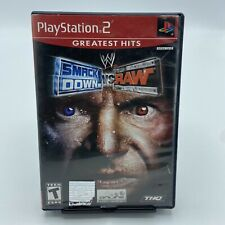 WWE Smackdown VS Raw Greatest Hits (Sony Playstation 2 PS2, 2004) With Manual