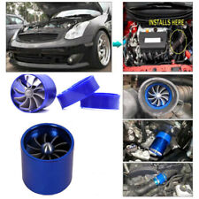 Car Turbine Turbo Air Intake Gas Fuel Saver Fan Supercharger  Easy To Install