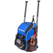 Bat Pack Bag Batpack Youth Softball Baseball Equipment Backpack Blue Sport Gear