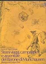 Raspe, Strani viaggi, campagne e avventure del Barone di Munchauen ill. Dorè  R