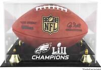 Philadelphia Eagles Super Bowl LII Champs Golden Classic Football Display Case