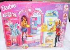 "Mattel BARBIE GALLERIA With 6 VILLAGE STORES 12"" Doll Figure Play Set MISB`95!"