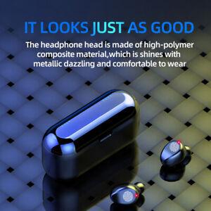 F9 Bluetooth 5.1 True Wireless Headphones Stereo Headsets