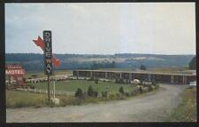 Postcard CAMILLUS New York/NY  Caroline Tourist Motel Motor Court view 1950's