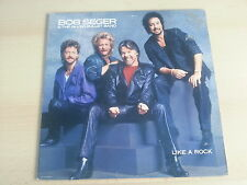 RARE LP / BOB SEGER & THE SILVER BAND / LIKE A ROCK / PROMO USA