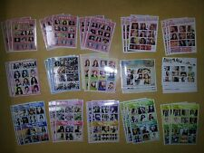 SNSD GIRLS' GENERATION fanmade Stickers  #1 - Total 45 Sheet - GEE TTS HOLLER