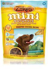 Zuke's Mini Naturals Moist Miniature Treats For Dogs  CHICKEN 6 oz