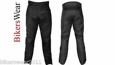 G-MAC Pilot - Black Waterproof Textile Motorcycle Trousers Long Leg