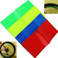 2pcs Bicycle Mountain Bike Reflector Cycling Wheel Rim Reflective Tape Stic Y5V0