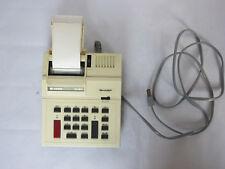Vintage Sharp Elsi Mate El-1071 Accounting Printing Calculator Taxes Bookeeping