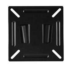 Hot Flat Panel LCD TV Screen Wall Mount Bracket Stand Holder Black New