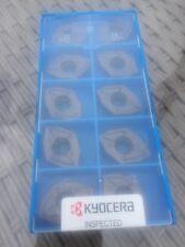 10 Kyocera Carbide U Drill Inserts ZXMT 170608 GM ( PR1230) DRX Magic Drill