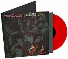 U K SUBS - CRASH COURSE - UK SUBS - VINYL - NEW