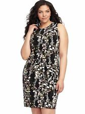 INC INTERNATIONAL CONCEPTS Bouquet Sheath Dress w front faux pockets 3X 22W 24W