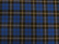 "Poly Viscose Tartan Plaid Check Fabric Material Double Sided - 150cm (60"") wide"