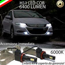 COPPIA LAMPADE H11 LED CANBUS FENDINEBBIA HONDA INSIGHT 6400L 6000K NOERROR