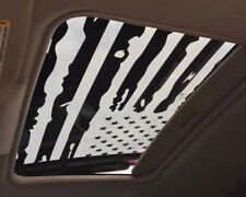 DODGE CHALLENGER 2009-2018 DISTRESSED AMERICAN FLAG SUNROOF DECAL